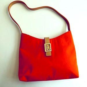 Lauren Ralph Lauren Nylon Shoulder Bag